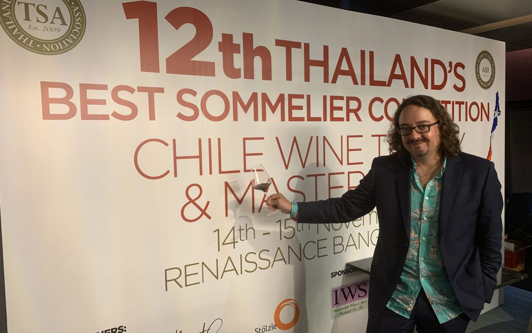 12th Bangkok Wine Tasting & Chile Wine Trade Show