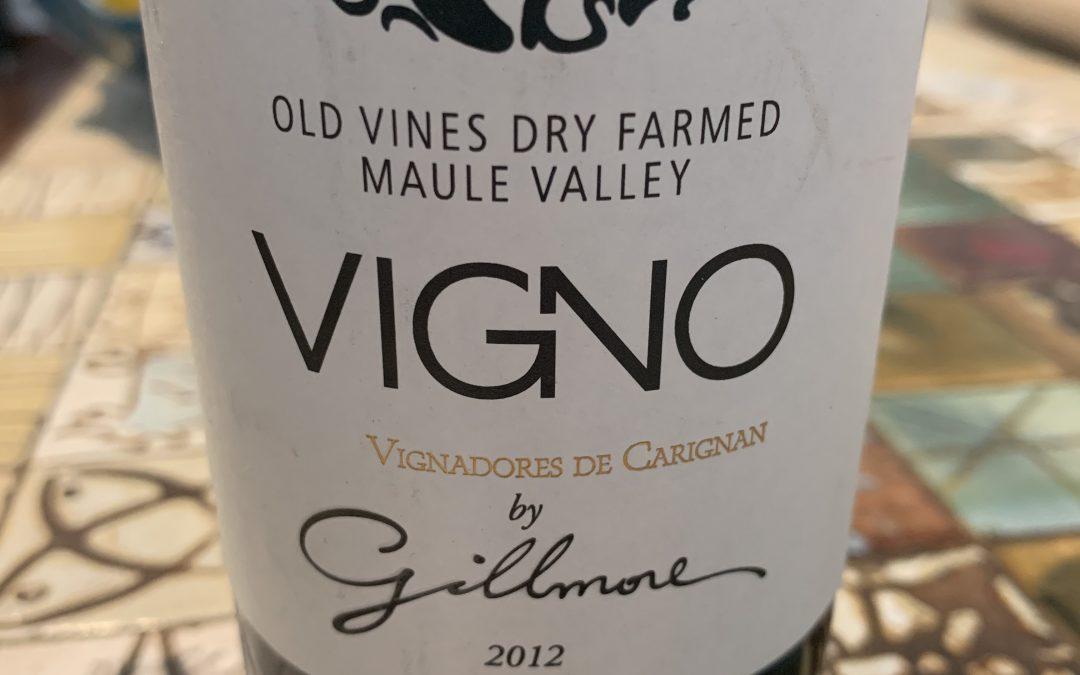 Vigno Carignan 2012 by Gillmore
